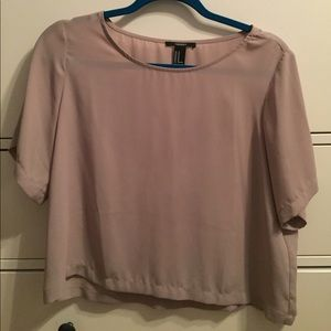 Forever 21 Tops - Taupe Blouse